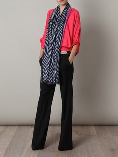 DVF Kenley Scarf - I like the entire look