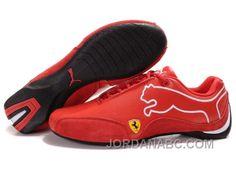 Mens Puma Future Cat 103 Red White Black