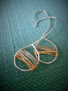 Falling Threaded Two Toned Teardrop by SFDesigns2015 on Etsy Sterling Silver & Gold Earrings Jewelry