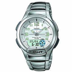aec5501c1a5 Relógio Masculino Anadigi Casio Standard AQ-180WD-7BV - Prata Branco