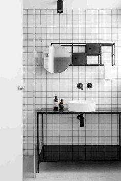 Bagno in bianco e nero | Cerlovers | Made in Italy, creatività e innovazione.