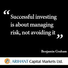 #SaturdayQuote #Risk #Investment