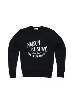 Home   Maison Kitsuné. Tricots. Maison Kitsune - Palais Royale Sweatshirt eb0732ea546a