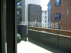 a delay of eight syllables by Scottish Poetry Library, via Flickr