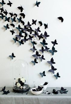 butterflies backdrop