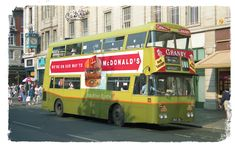 is seen in September 1991 on a short working to Kelly's Corner on an unmarked 19 service. Double Decker Bus, Bus Coach, Buses, Dublin, Trains, Transportation, Ireland, Irish, September