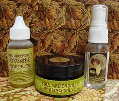"This is called 'The Wild Weekend"". A kit with Organic Tattoo Aftercare and Organic Piercing Aftercare~enough to share!"