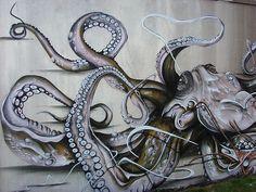 outdoor octopus.