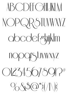 Free Font Riesling by Bright Ideas | Font Squirrel