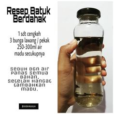 💟 RESEP BATUK BERDAHAK 💟 Batuk berdahak paling sering disebabkan oleh infeksi dari bakteri, virus, atau jamur yang menyerang saluran… Home Health Remedies, Herbal Remedies, Health And Nutrition, Health Tips, Healthy Drinks, Healthy Recipes, Diet Recipes, Diet Snacks, Diet Meals