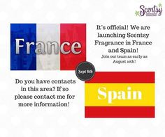 #scentsy @spain #france