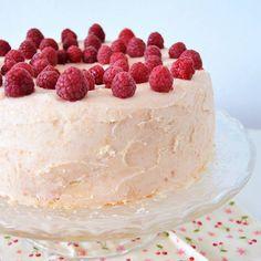 Angel food cake #ricetteaquadretti #thisishome