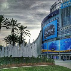 NAMM before all the attendees have arrived