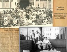 During the dire times of the Great Depression students strained for resources were starting cooperatives throughout the country. In February 1933, Harry Kingman, former YMCA director, inspired 14 UC Berkeley students to start the first student housing cooperative in Berkeley.    The plan was a success, inspiring members to work all summer to raise capital to keep their co-op alive. In the Fall of '33 the students leased the original Barrington Hall housing 48 students.