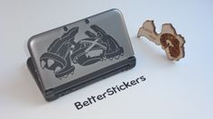 Metagross pokemon decal sticker for 3ds XL 3ds by BetterStickers, $6.00