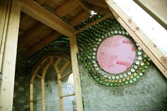Georgia Earthship building stage