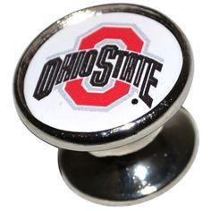 Ohio State University 27MM Drawer/Cabinet Handles - Everything Buckeyes - OSU Fan Shop