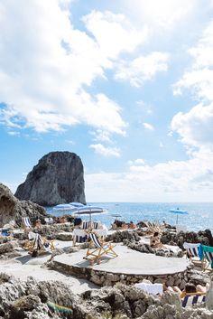 Jenny Cipoletti in Capri, Italy