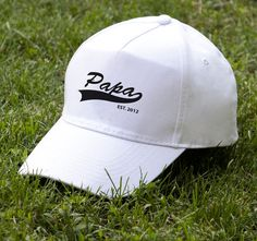 Papa Baseball Cap Cool Hats Best Papa Father Gift For Dad Husband Gift Dad Caps…