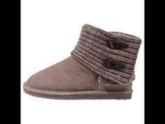 Gray Bear Paw Boots. Not as expensive and doesn't kill animals as uggs