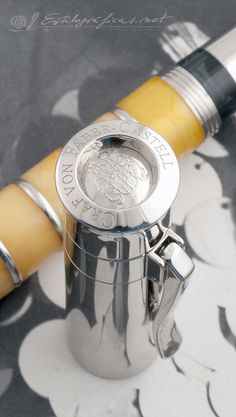 Graf von Faber-Castell Pen of the Year 2004  Photo by Álvaro Romillo