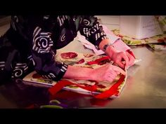 Sewing Tutorial: How to Make a Picnic Blanket and Cushion - YouTube