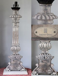 New Aidan Gray lamps and candle stick holders coming soon.