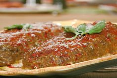 Italian Meatloaf from FoodNetwork.com