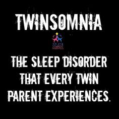 The life of twin parents!
