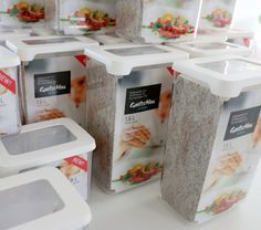 Organization Ideas, Organizing, Food Storage Boxes, Lunch To Go, Food Waste, Nordic Design, Pantry, Kitchens, Pantry Room