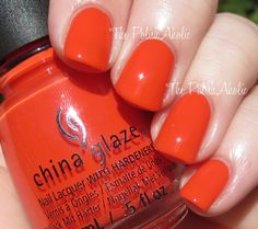 The PolishAholic: China Glaze Spring 2015 Road Trip Collection Swatches & Review - Pop The Trunk
