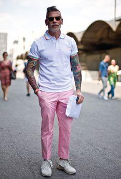 Moda masculina - Estilo: Nickelson Wooster