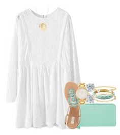 """outfit planning for hawaii☀️"" by thefashionbyem ❤ liked on Polyvore featuring Kate Spade, Tiffany & Co., Vera Bradley, Tory Burch, Moon and Lola, women's clothing, women's fashion, women, female and woman"