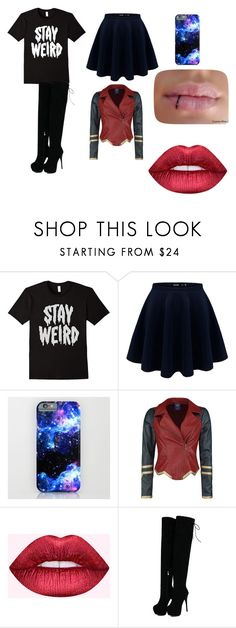 """""""STAY weird"""" by getjinxed205 on Polyvore featuring Dreamgirl"""