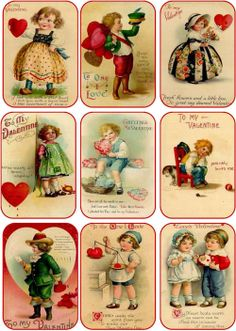 papers.quenalbertini: Vintage Valentine Images