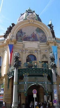 National Theatre in Prague, Czech Republic. Josef von Zítek.