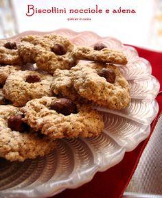Biscottini con fiocchi d'avena
