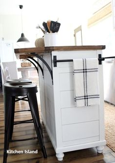 Stupefying Small Kitchen Remodel Cost Ideas – diy kitchen decor on a budget Small Kitchen Remodel Cost, Ikea Kitchen Remodel, Kitchen Remodeling, Remodeling Ideas, Apartment Kitchen, Ikea Hack Kitchen, Narrow Kitchen Island, Kitchen Island With Seating, Kitchen Island Butcher Block