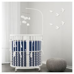 Boy nursery ideas, shown with our @stokkebaby bassinet set. Learn more at Lublini.com #stokke