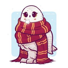169 vind-ik-leuks, 12 reacties - Naomi Lord (@naomi_lord) op Instagram: 'Have a chilly Hedwig in a scarf :3 Quick reminder about my 15% off sale on etsy use the code…'