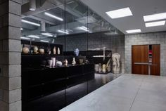 Cranbrook Art Museum by SmithGroup JJR - love the idea of the collections wing with storage on display.