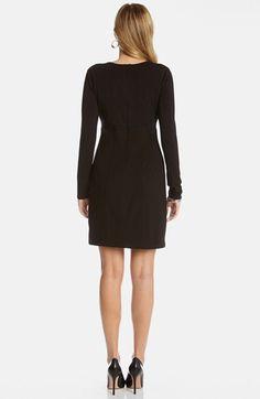 Karen Kane Black Long Sleeve Jersey Dress | Nordstrom #Karen_Kane #Black #Long #Sleeve #Jersey #Dress #Nordstrom
