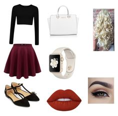 """""""Going out to a concert"""" by reneeizzy on Polyvore featuring Michael Kors, Lime Crime and Accessorize"""
