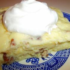 Pineapple Cream Cheese Jello Squares Recipe | Just A Pinch Recipes