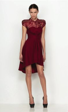 Lover Gothic Lace Dress