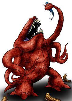 Visser: Antarean Bogg by Monster-Man-08 on deviantART
