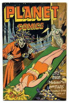 "Dedicated to all things ""geek retro:"" the science fiction/fantasy/horror fandom of the past including pin up art, novel covers, pulp magazines, and comics. Sci Fi Comics, Old Comics, Horror Comics, Vintage Comics, Fantasy Comics, Pulp Fiction Art, Science Fiction Art, Pulp Art, Mad Science"