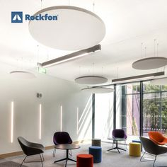 The Glucksman Library at the University of Limerick is one of the biggest campus libraries in Ireland and one of the most digitally advanced in the world. Acoustic ceilings from Rockfon® are fitted throughout and play a pivotal role in helping the university realise a comfortable environment for all students. The acoustics were a fundamental part of the design to create the ideal place where to study and relax without dealing with noises. #SoundsBeautiful #interiordesign #acoustics #rockfon Acoustic Design, Sound Absorption, Ceilings, Libraries, Ireland, Environment, Students, University, Study