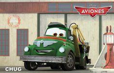 El camión de combustible Chug es un tipo rudo.