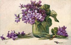 Антикварные открытки с цветами от F. LOHMANN. Комментарии : LiveInternet - Российский Сервис Онлайн-Дневников